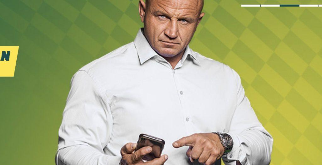 Aplikacja Betfan reklamowana jest przez... Pudziana!